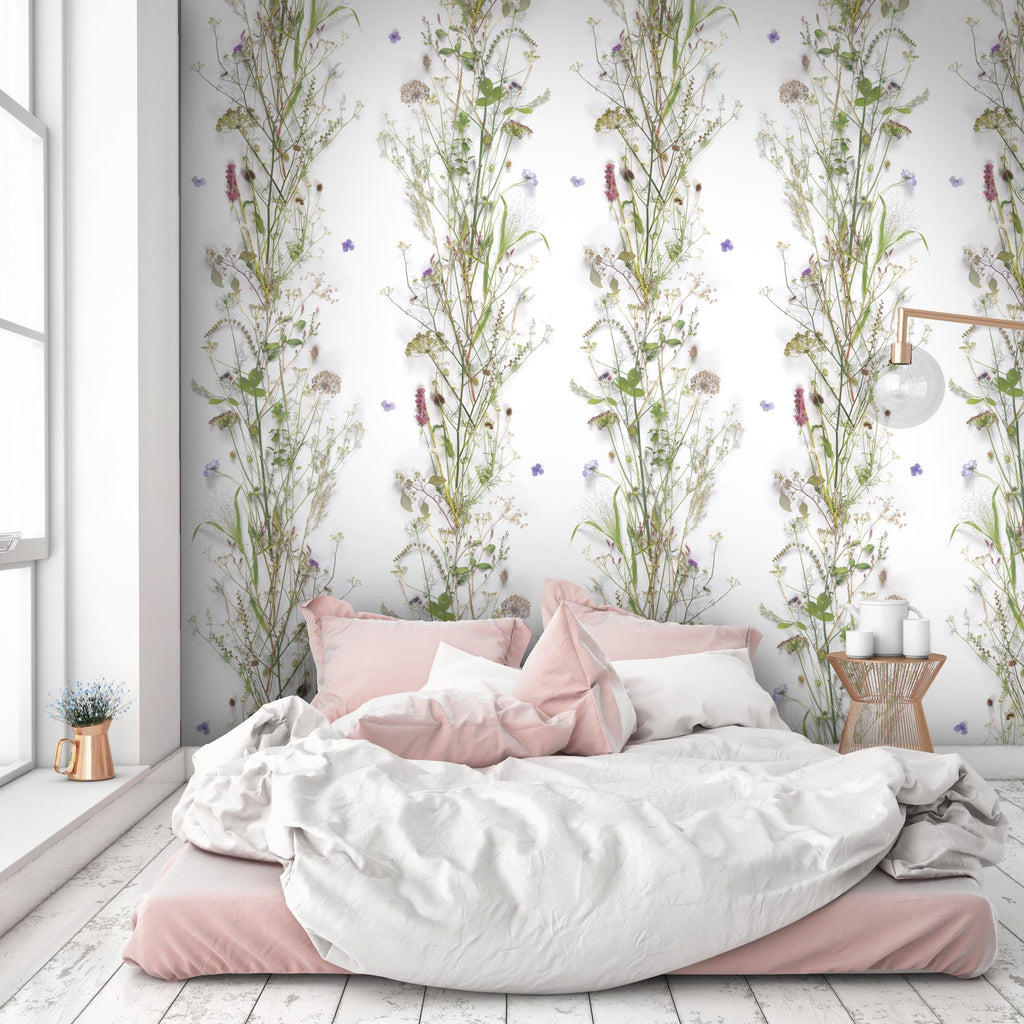 'Nostalgia' Botanical Floral Wallpaper by Woodchip & Magnolia