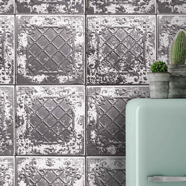 Tin Tile Charcoal By Woodchip & Magnolia