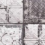 Salvaged Tin Tile by Argent & Ink