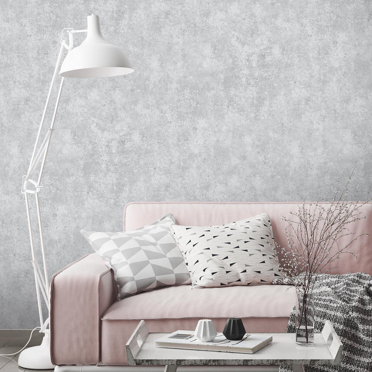 Concrete Texture Effect Wallpaper