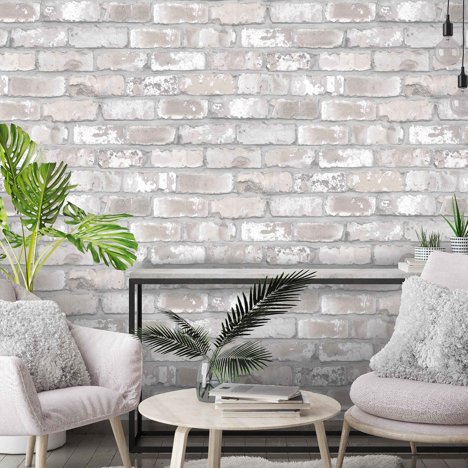 Exposed Brick Wallpaper By Woodchip & Magnolia