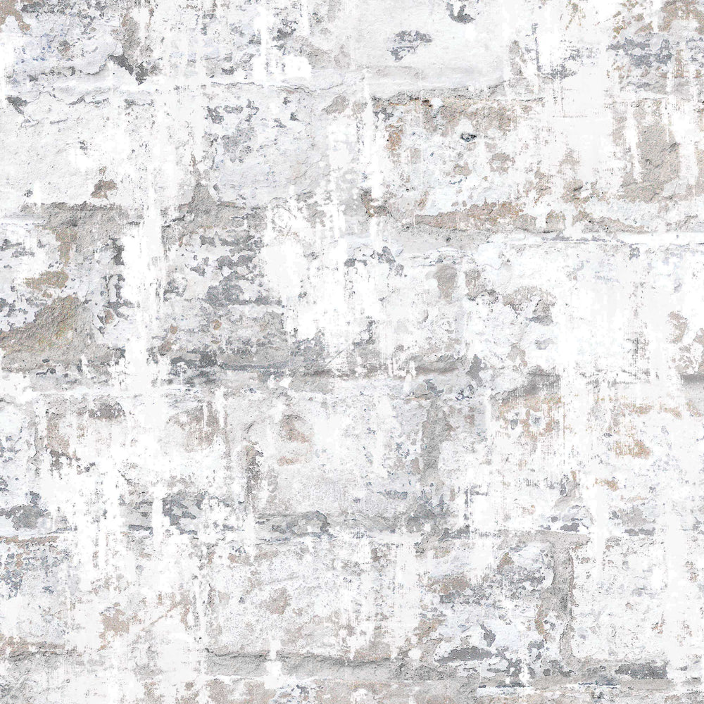 Plaster Brick Effect Wallpaper By Woodchip & Magnolia