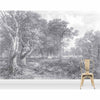 'Holy Cow' Vintage Etched Grey Wall Mural by Woodchip & Magnolia