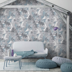 Raw Wall In Blue By Woodchip & Magnolia