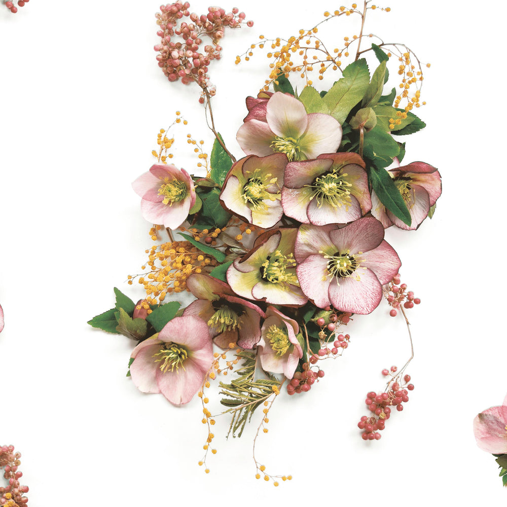 Hellebore Floral Wallpaper by Woodchip & Magnolia