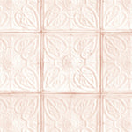 Tin Tile in Blush Wallpaper by Woodchip & Magnolia