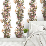 Hellebore Floral Panel Wallpaper