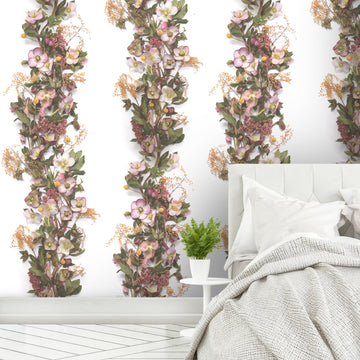 Hellebore Panel Wallpaper by Woodchip & Magnolia