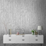 Concrete Wood Effect Wallpaper