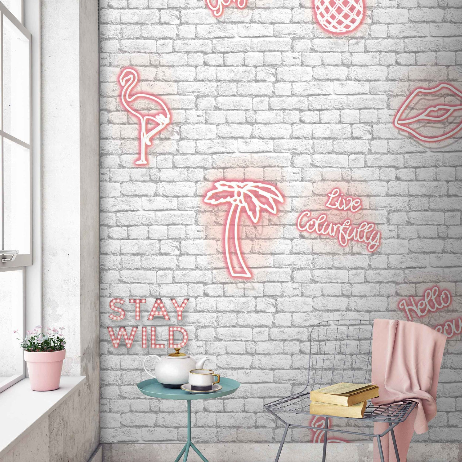 Fantastic Wallpaper Marble Neon - WM-058_STAY_WILD_PINK0_1500x1500  Collection_546727.jpg?v\u003d1522822883