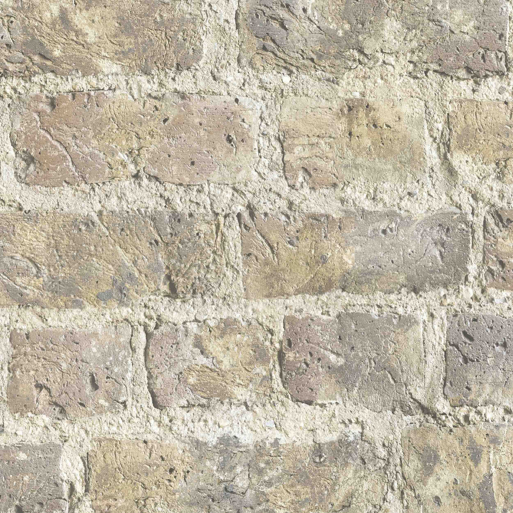 Cheetham Hill Brick Effect Wallpaper by Woodchip & Magnolia