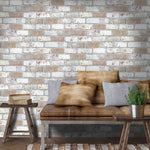 King Street Brick Effect Wallpaper
