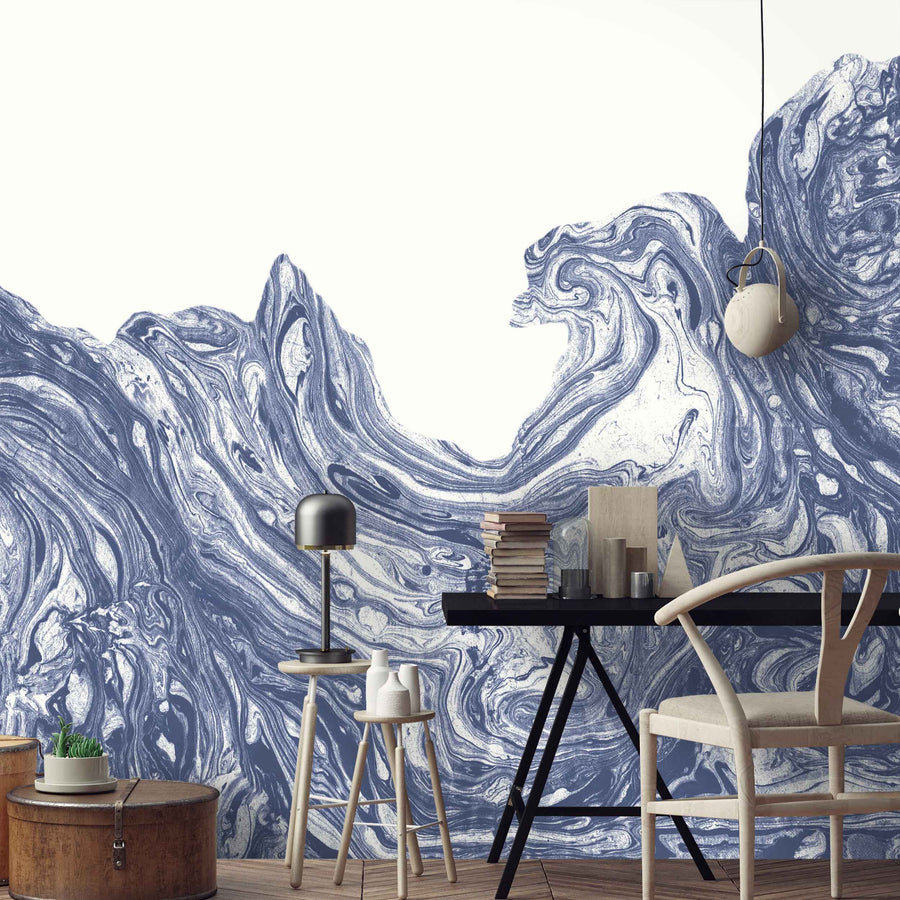 High Tide Wall Mural