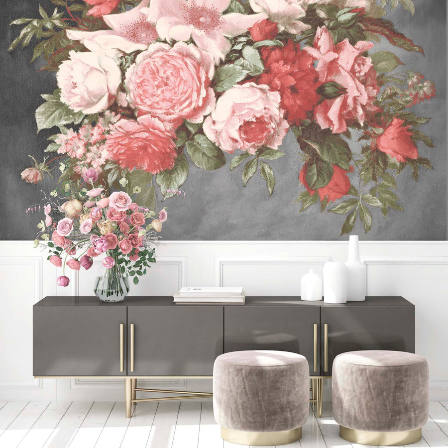 Still Life Rose Wall Mural