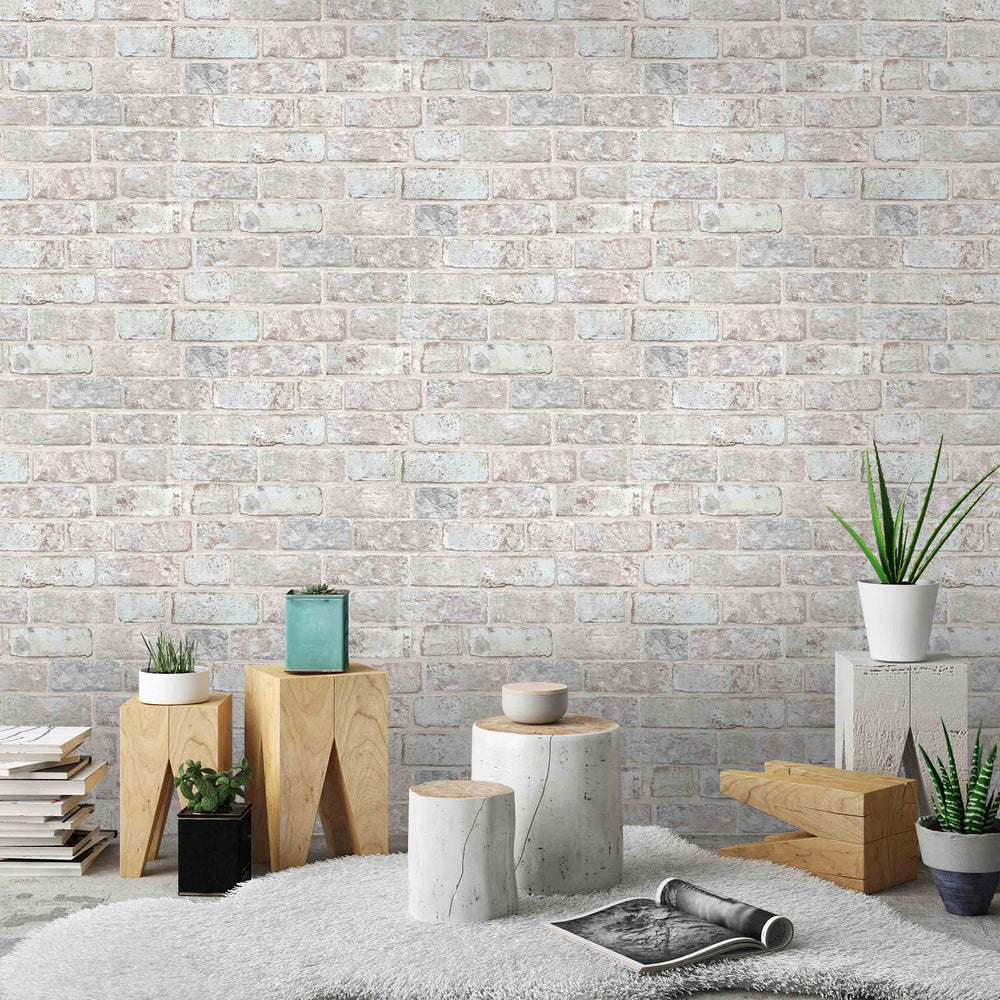 Moorfield Brick Effect Wallpaper