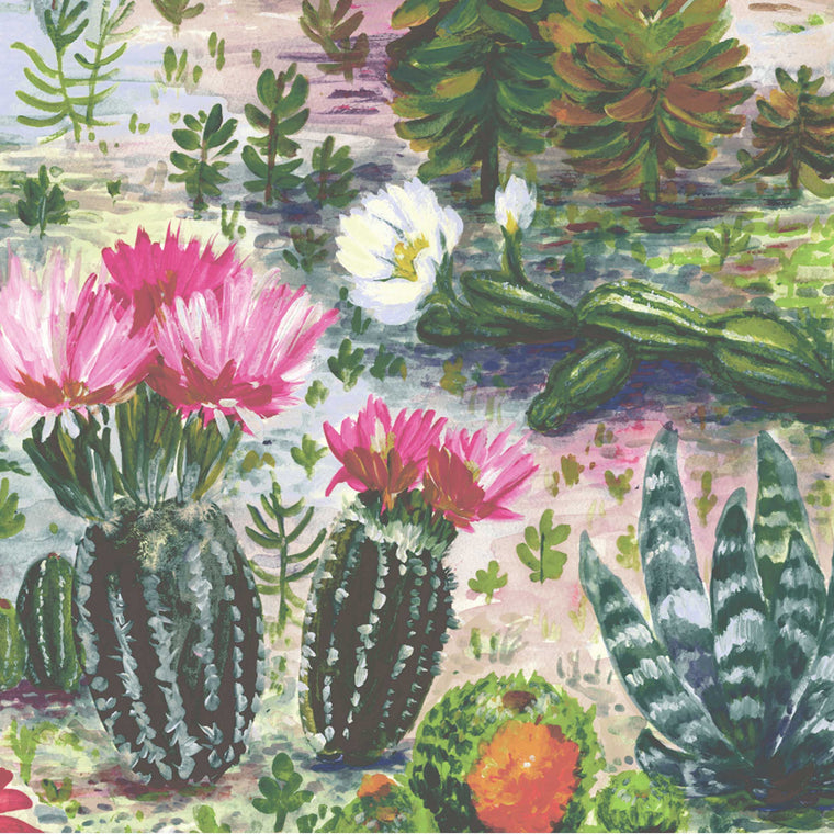 Cacti Multi Wallpaper by Woodchip & Magnolia