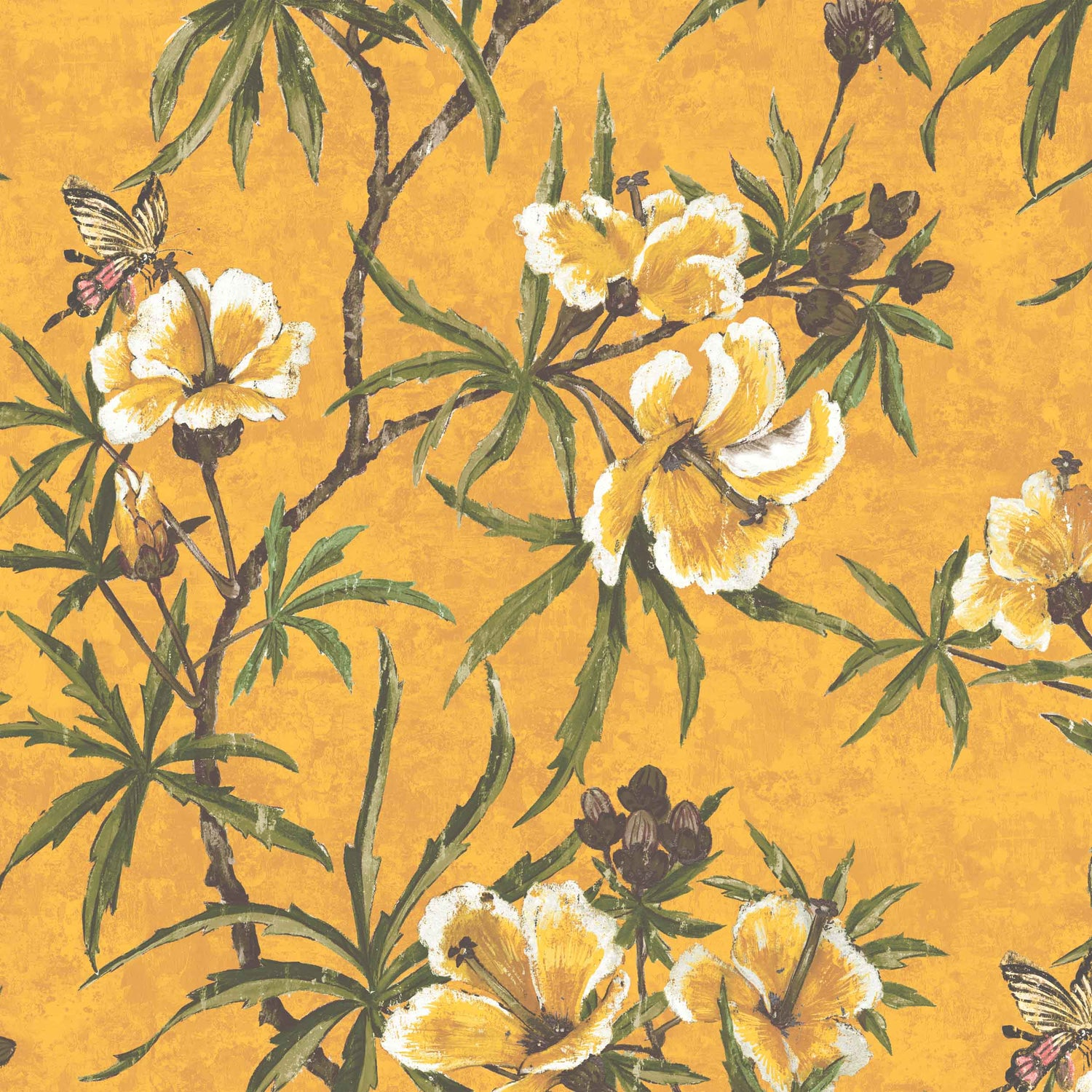 Zen in Imperial Yellow by Woodchip & Magnolia