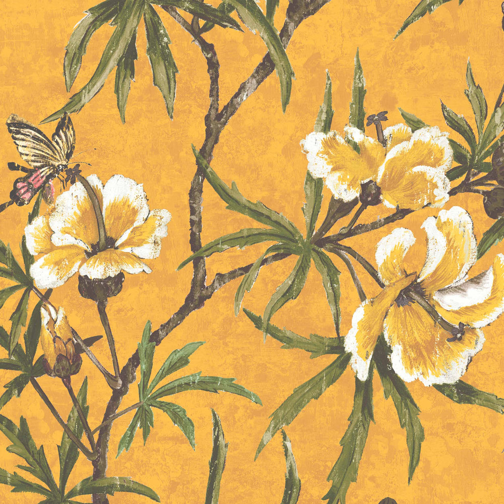 Zen Imperial Yellow Wallpaper