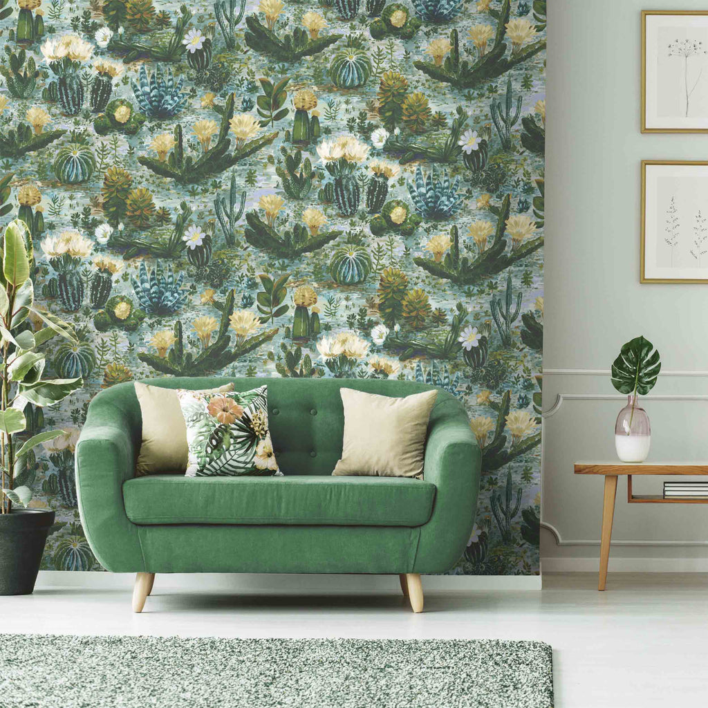 Cacti in Pickle Green by Woodchip & Magnolia