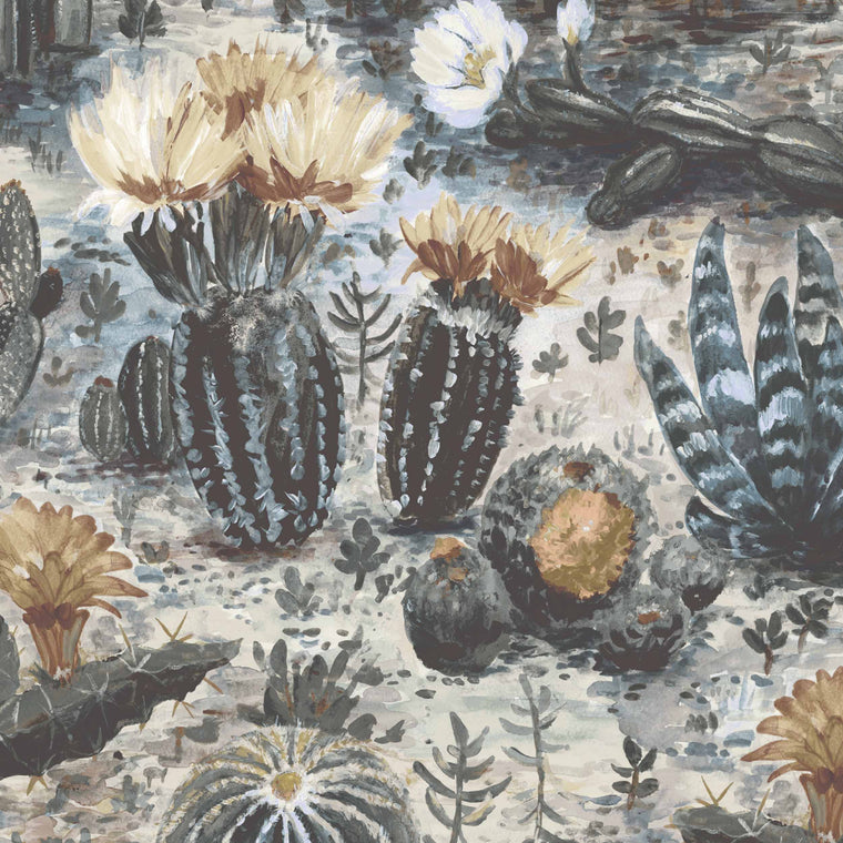 Cacti Cactus Wallpaper in Bray by Woodchip & Magnolia