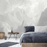 Arcadia Grey Wallpaper Wall Mural