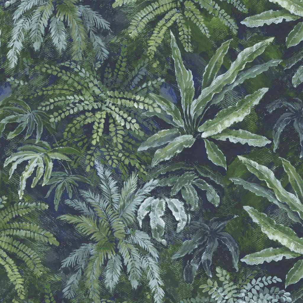 Fern in Lush Green Wallpaper by Woodchip & Magnolia