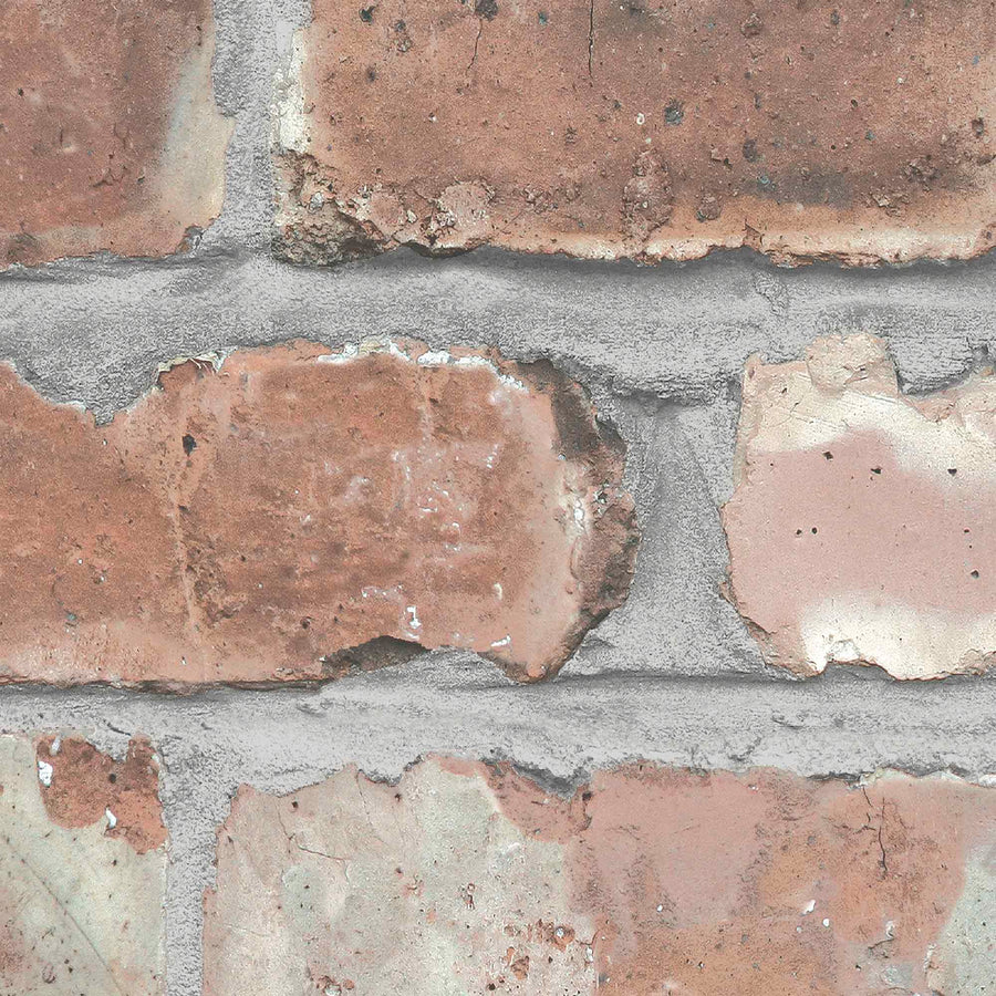 Beeston Grove Brick Effect Wallpaper