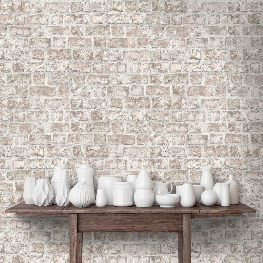 Clifton Brick Effect Wallpaper