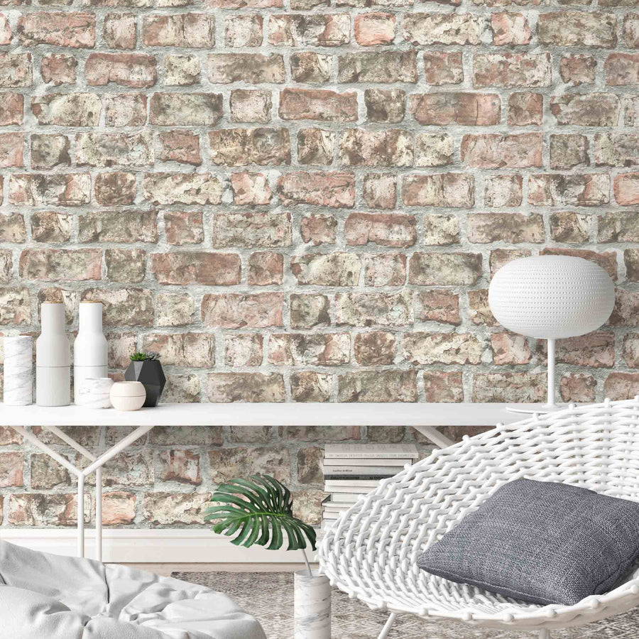 Friargate Brick Effect Wallpaper