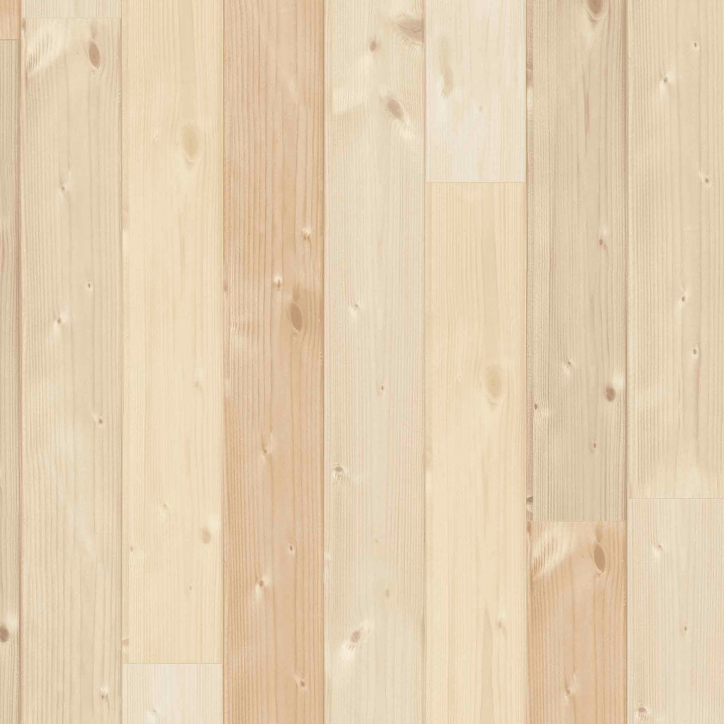 Swedish sauna wood plank wallpaper by Woodchip & Magnolia