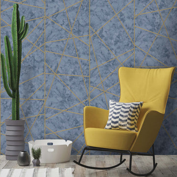 Marble Lines Wallpaper by Woodchip & Magnolia