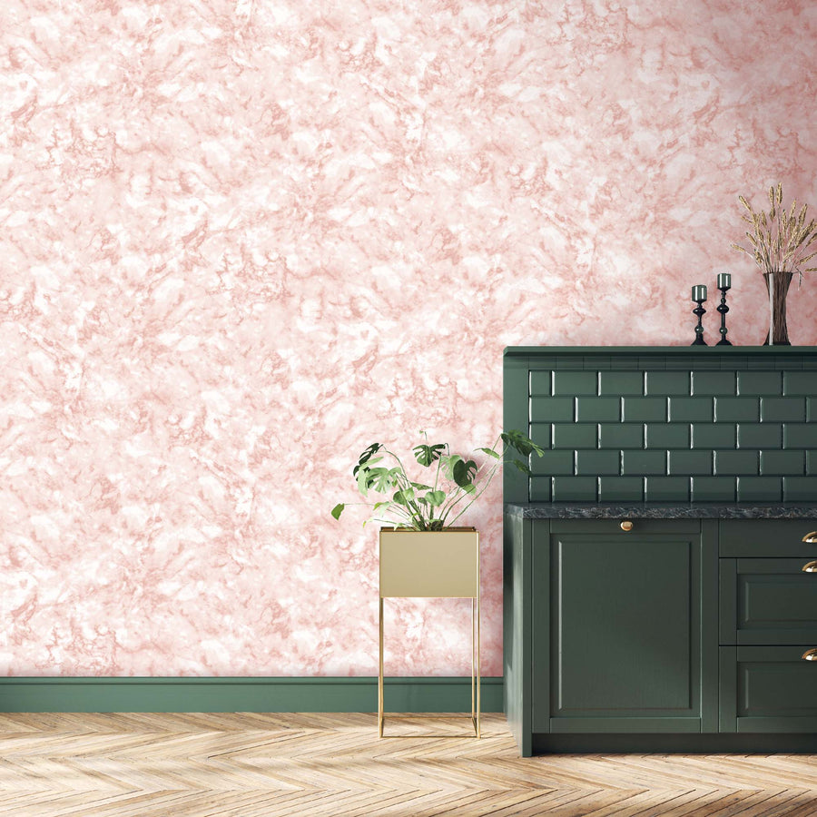 Marble Blush Pink Wallpaper