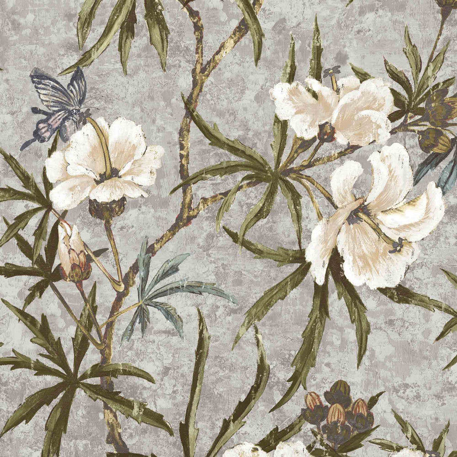 Zen Grey Wallpaper By Woodchip & Magnolia