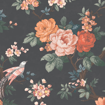 Dawn Chorus in Noir Black Velvet By Woodchip & Magnolia