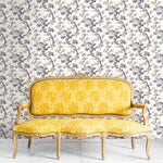Ditsy Floral in Lavender Wallpaper