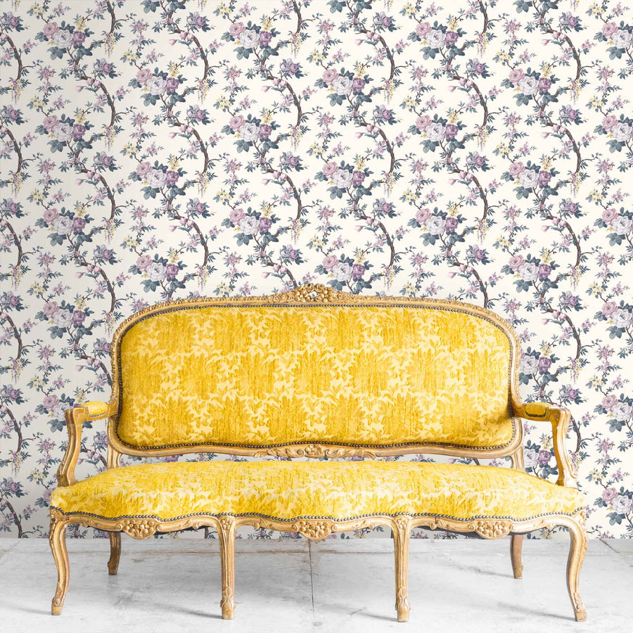 Ditsy Floral in Lavender Wallpaper By Woodchip & Magnolia