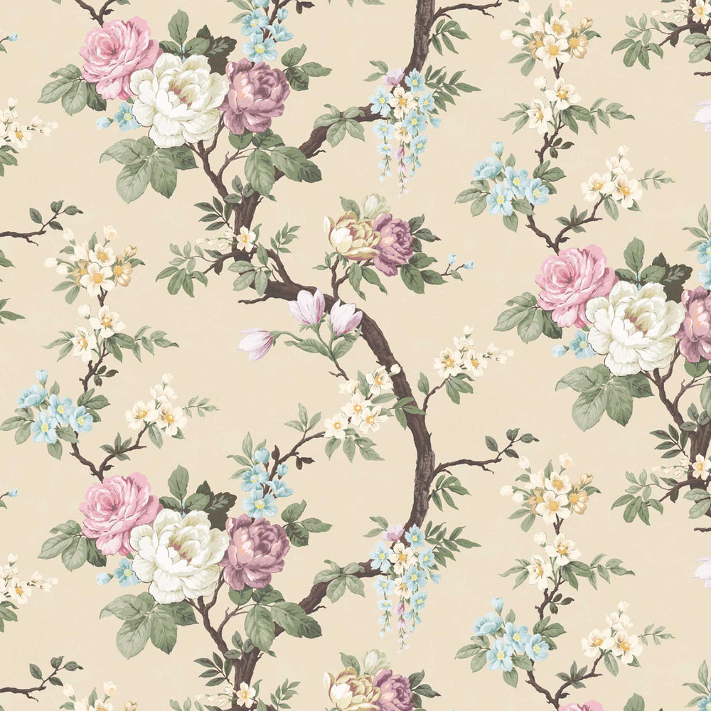 Ditsy Floral in Ivory Wallpaper By Woodchip & Magnolia