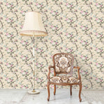 Ditsy Floral in Ivory Wallpaper