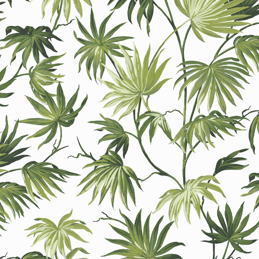 Va Va Frome Meadow Green Leaf Botanical Wallpaper By Woodchip & Magnolia
