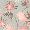 Va Va Frome Blush Eau De Nil Leaf Wallpaper By Woodchip & Magnolia