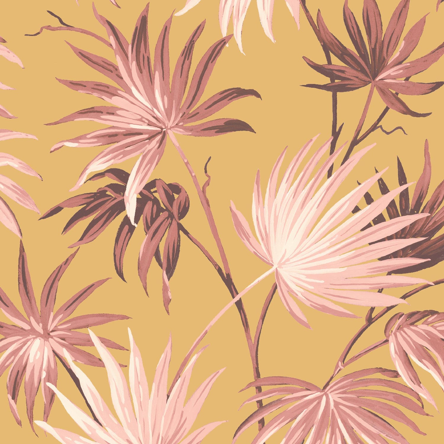 Va Va Frome Sunset Leaf Wallpaper By Woodchip & Magnolia