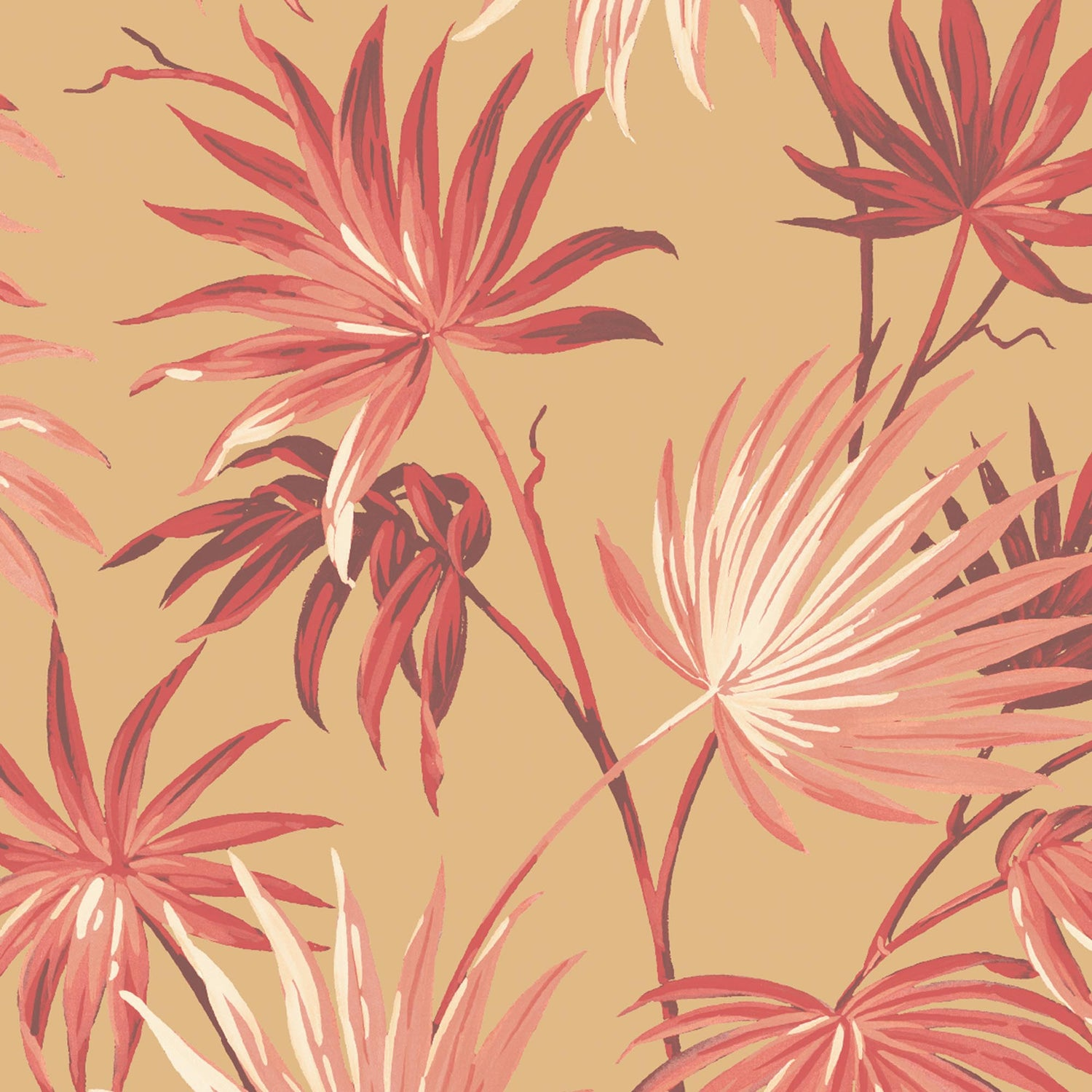 Va Va Frome Festival Red Leaf Wallpaper By Woodchip & Magnolia