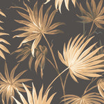 Va Va Frome Noir Black Leaf Wallpaper