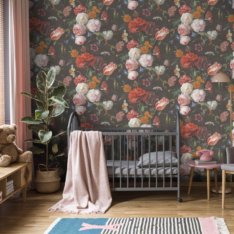 Dutch Floral Masterpiece Wallpaper 01 by Woodchip & Magnolia