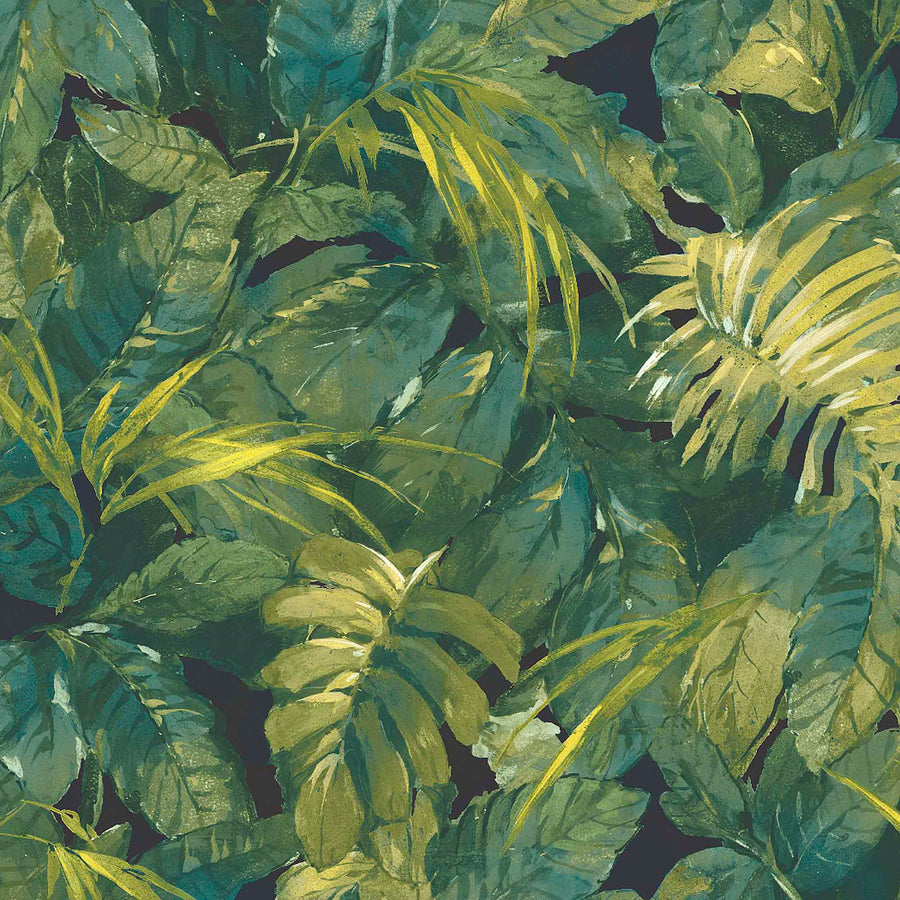 Lush Tropic Green Wallpaper