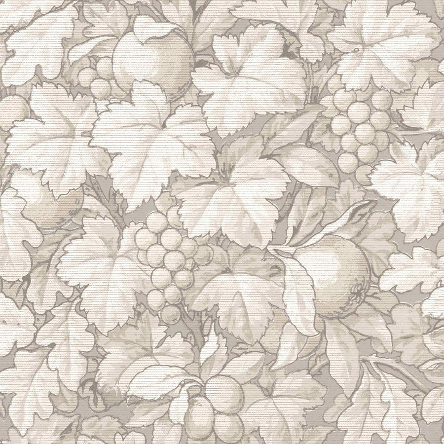 Turton in Oatmeal Wallpaper