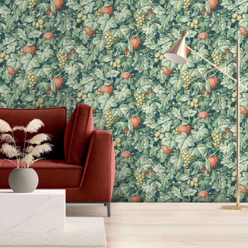 Turton in Lawn Green Wallpaper