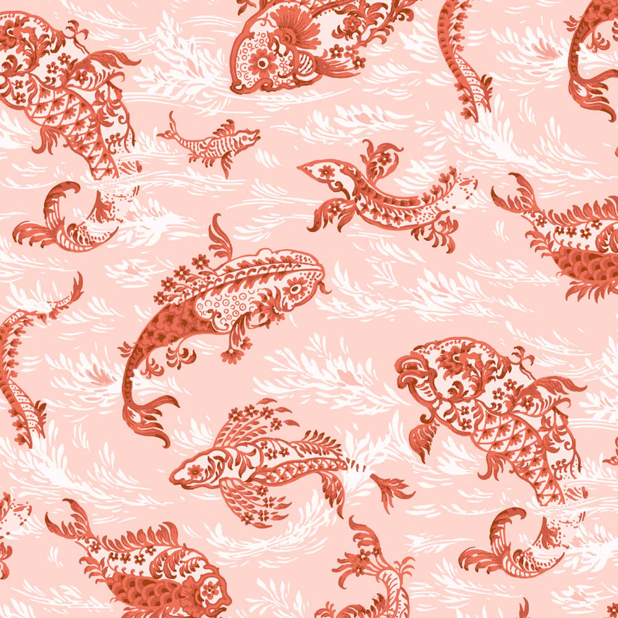 Magical Lagoon Blush/Sunset Wallpaper