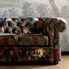 Ava 3 Seater Velvet Chesterfield Sofa