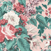 Faded Glamour Pretty Pink Floral Wallpaper By Pearl Lowe